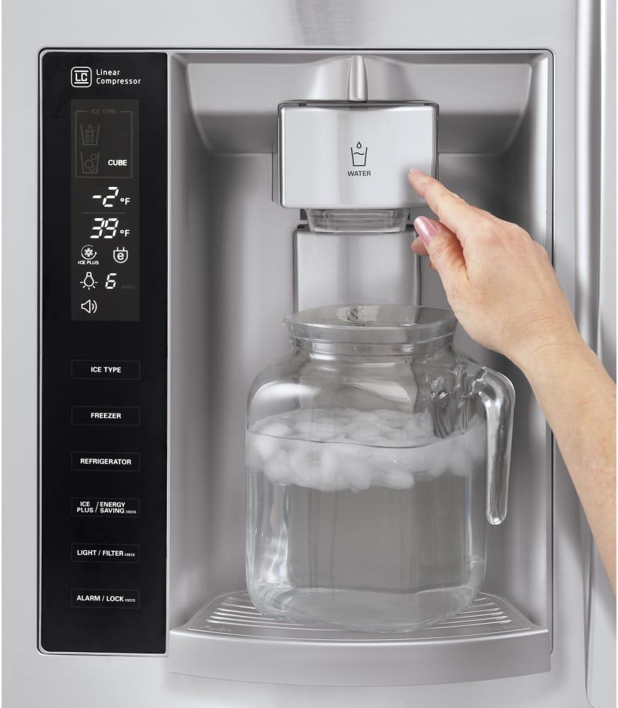 Lg Lfx28968st 36 Inch French Door Refrigerator With Slim