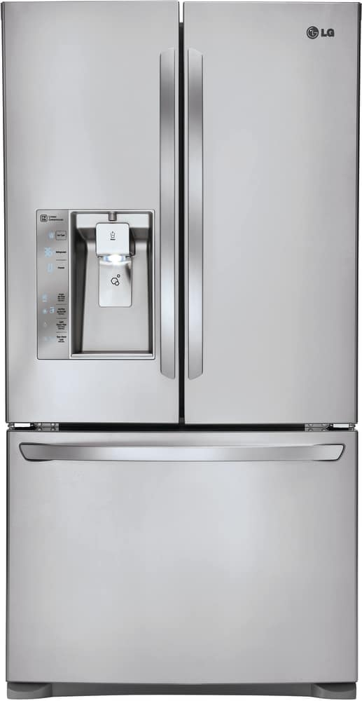 Genial LG LFXC24726S   Counter Depth French Door Refrigerator From LG In Black  Stainless Steel ...