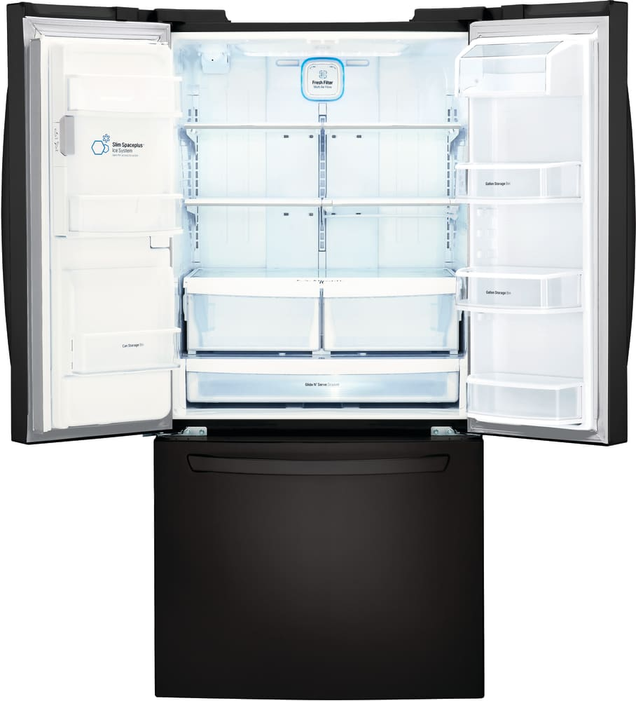 Lg Lfxs24623 33 Inch French Door Refrigerator With Slim