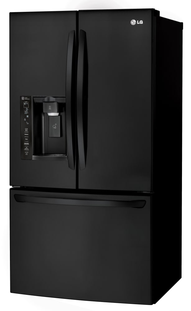 Marvelous ... LG LFXS24623B   33 Inch French Door Refrigerator From LG In Black ...