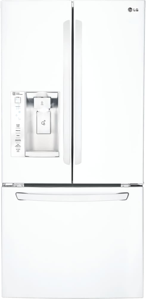 LG LFXS24623W   33 Inch French Door Refrigerator From LG In White ...