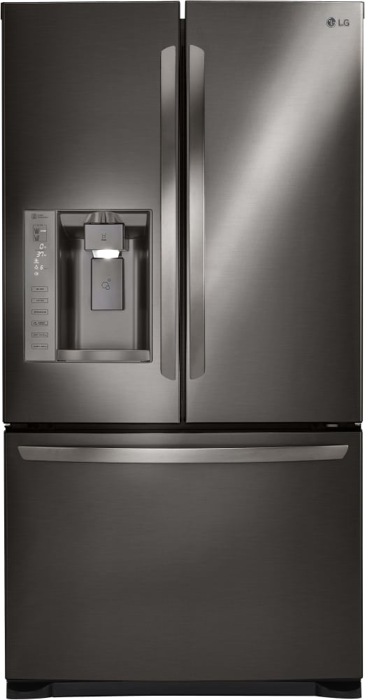 Lg Lfxs24626d 36 Inch French Door Refrigerator With Tall Ice Water