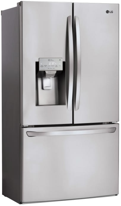 Lg Lfxs26973s 36 Inch Smart French Door Refrigerator With