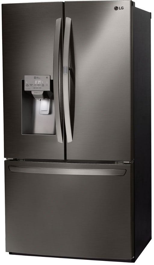 ... LG LFXS28566D   Black Stainless Steel Right Angle ...