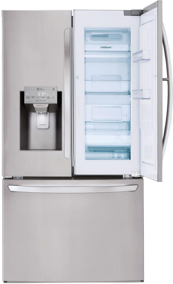 lg lfxs28566s 36 inch french door refrigerator with door. Black Bedroom Furniture Sets. Home Design Ideas