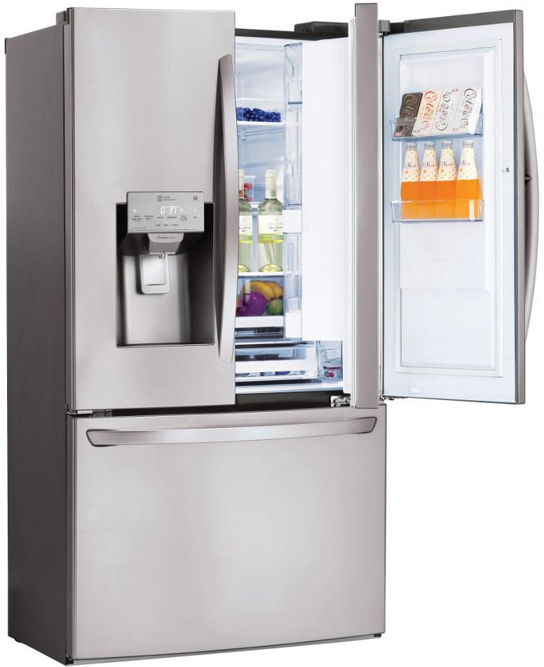 lg lfxs28566s 36 inch french door refrigerator with door in door spaceplus ice system smart. Black Bedroom Furniture Sets. Home Design Ideas