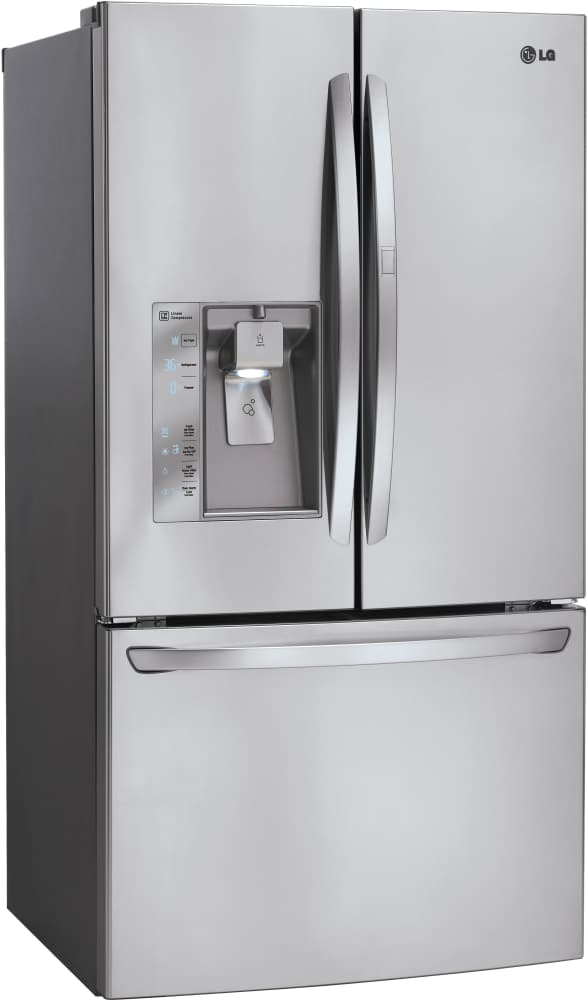 What French Door Refrigerator Brand Is Best Part - 16: ... LG LFXS29766S - 36 Inch French Door Refrigerator From LG
