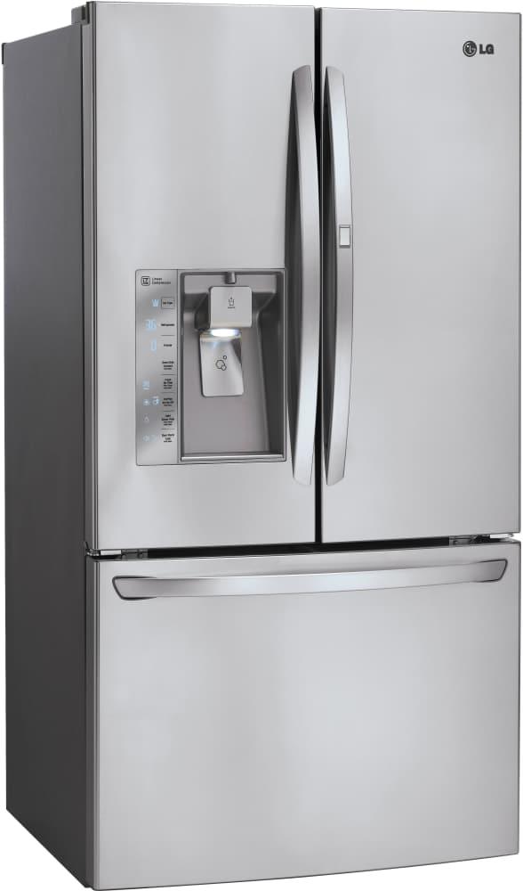 Lg Lfxs30766s 36 Inch French Door Refrigerator With Door