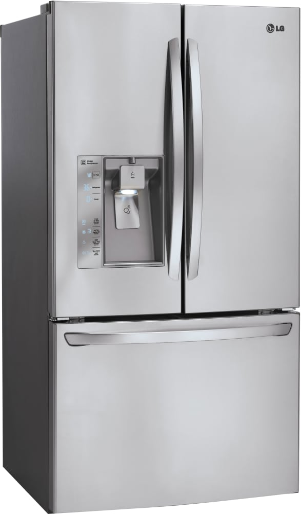 Lg Lfxs32726s 36 Inch French Door Refrigerator With Dual