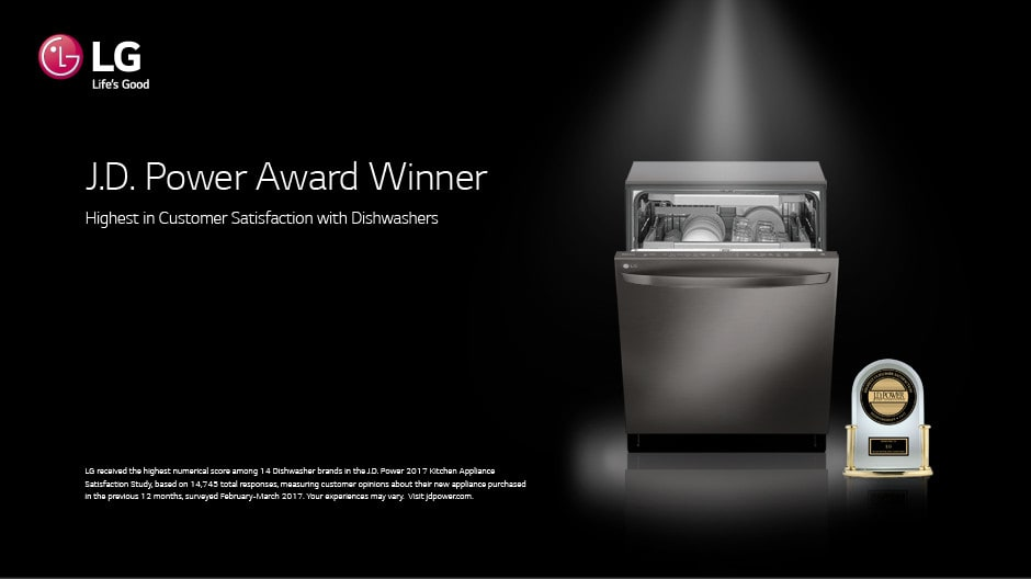 Lg Lds5540st Semi Integrated Dishwasher With Senseclean