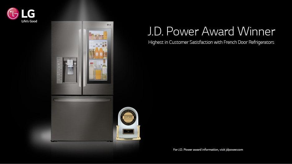 LG LMXS27626S 36 Inch 4-Door French Door Refrigerator with Slim SpacePlus®, Smart Cooling ...