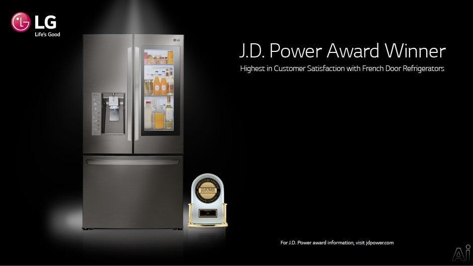 Lg Lmxs28626d 36 Inch 4 Door French Door Refrigerator With