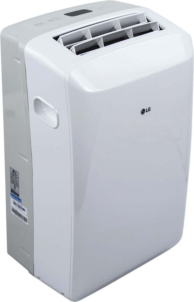 Lg Lp0817wsr 8 000 Btu Portable Air Conditioner With Programmable 24 Hour On Off Timer Auto Restart Multiple Fan Speeds Auto Cool Auto Swing Air Vent Auto Evaporation System Lcd Remote Control Water Full Indicator