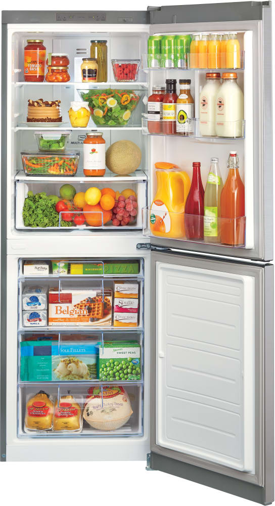 LG LBN10551PS 24 Inch Counter Depth Bottom-Freezer Refrigerator ...
