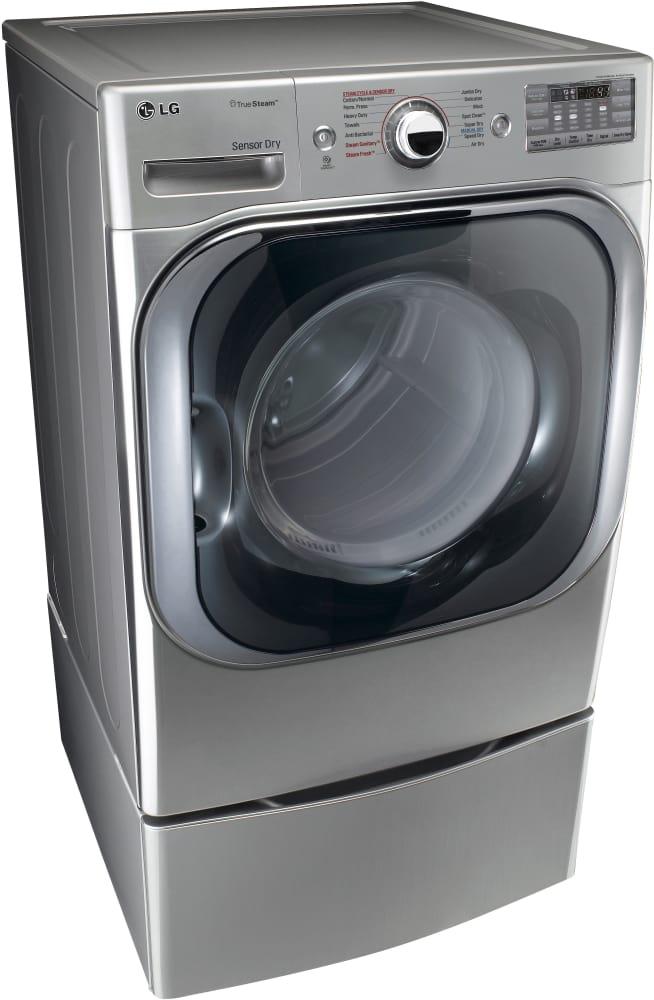 Dryer Lg Steamdryer Series Dlgx8101v Shown With Pedestal Sold Separately