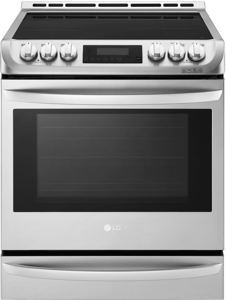 Lg Lse4617st 30 Inch Slide In Induction Range With 6 3 Cu