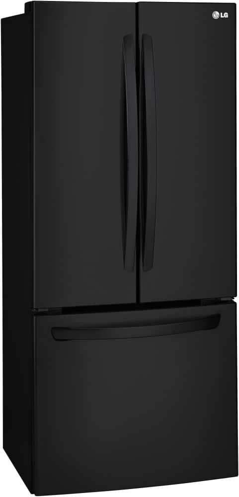 ... LG LFC22770SB   30 Inch LG French Door Refrigerator In Smooth Black ...