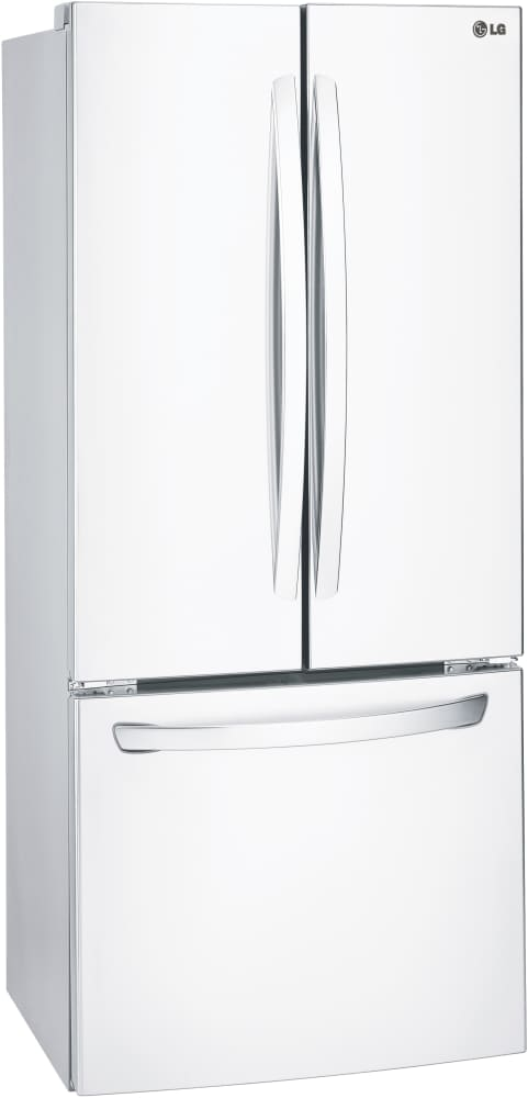 ... LG LFC22770SW   30 Inch LG French Door Refrigerator In White ...