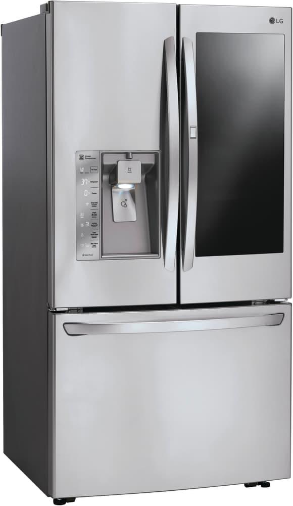 lg lfxs30796s 36 inch french door refrigerator with instaview window door in door coldsaver. Black Bedroom Furniture Sets. Home Design Ideas