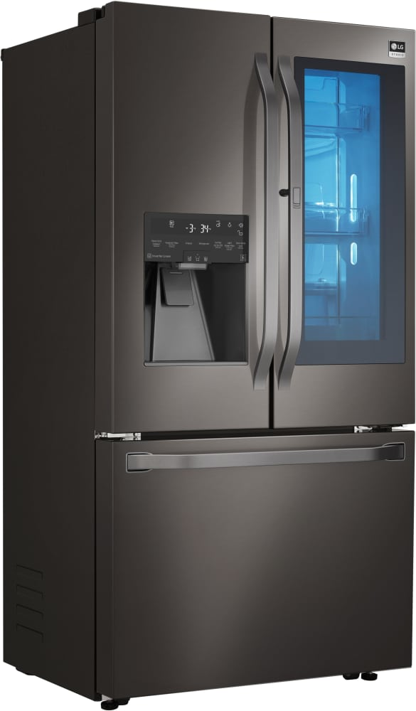 Lg Studio Lsfxc2496d Counter Depth French Door Refrigerator With Instaview Window And In