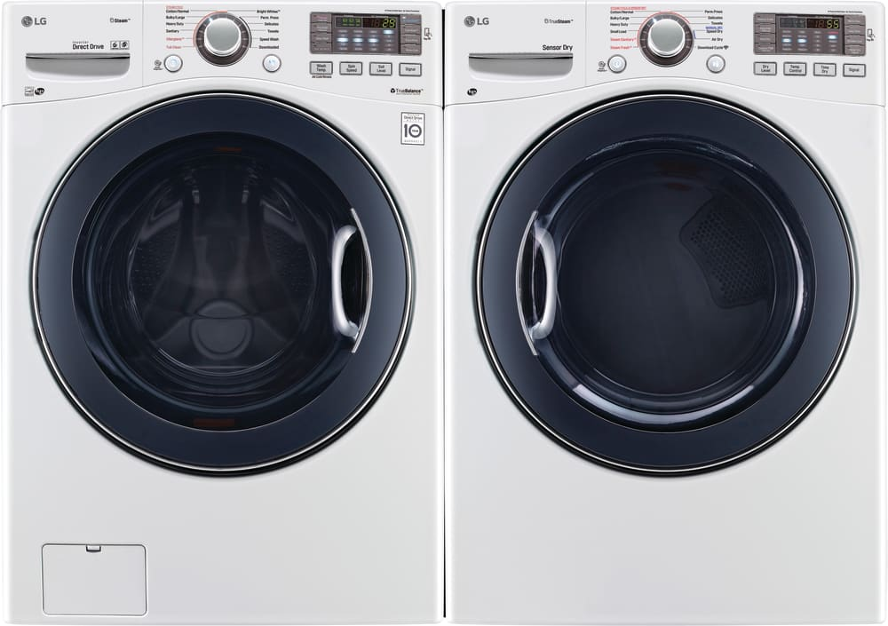 Lg Wm3770hwa 27 Inch Front Load Washer With Steam