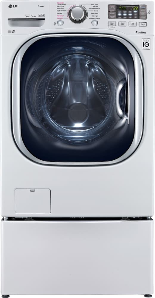 LG WM4370HWA 27 Inch Front Load Washer with 4.5 cu. ft. Capacity ...