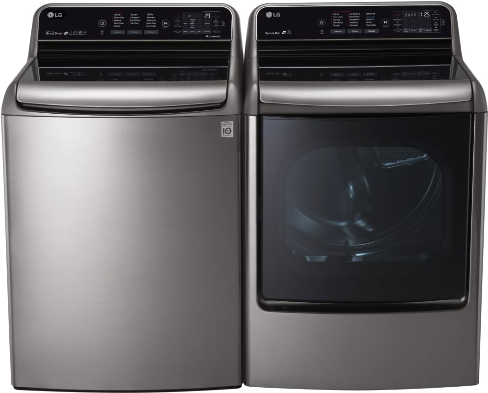 Large Lg Dryer ~ Lg dlex ve inch electric dryer with cu ft