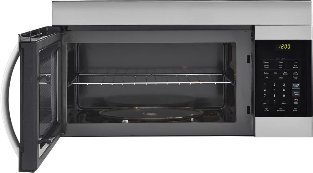 Lg Lmv1762st 1 7 Cu Ft Over The Range Microwave With Ez