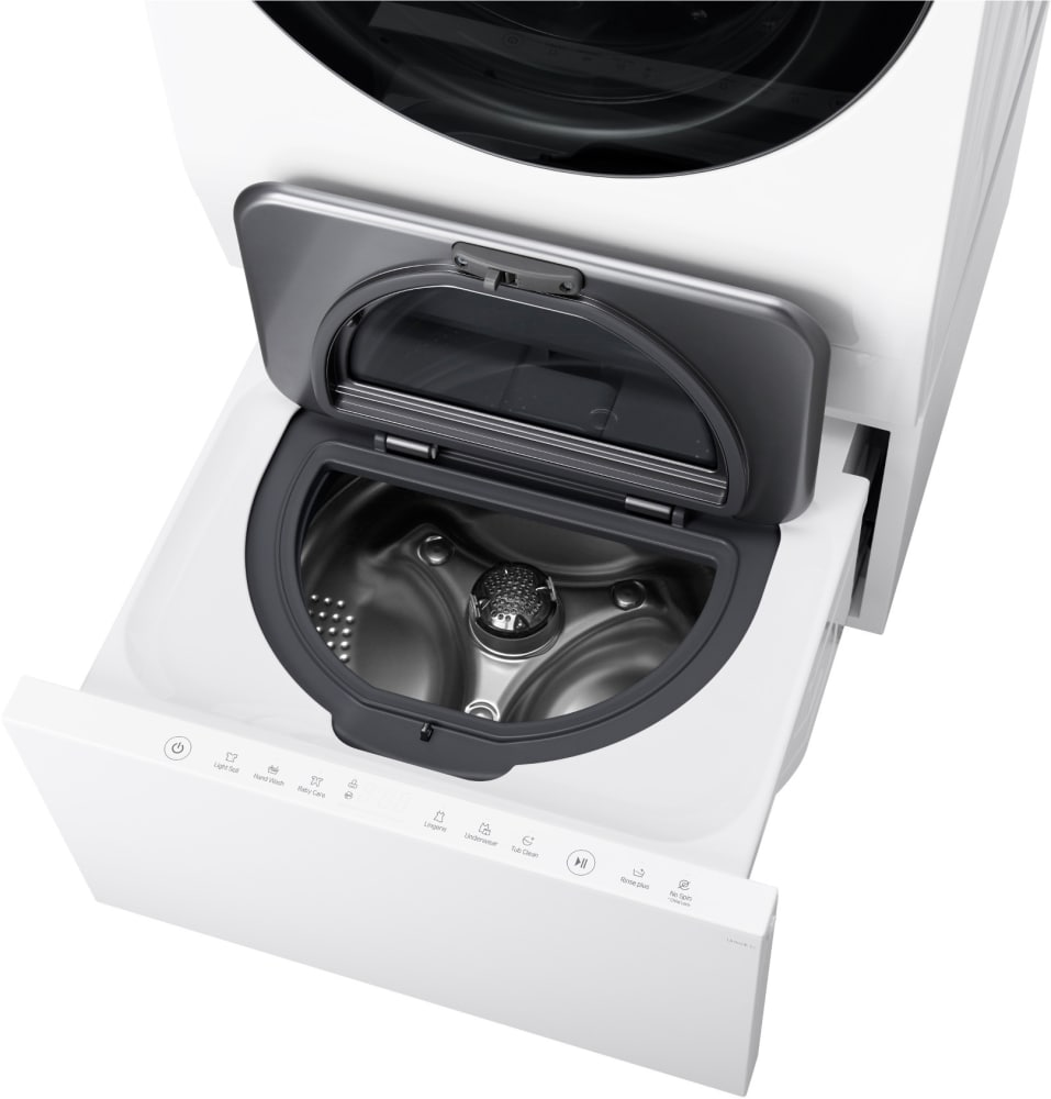 Lg Luwd1cw 24 Inch Laundry Pedestal Sidekick Washer With
