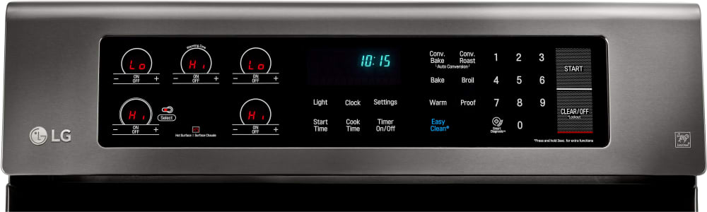 Lg Lre3061bd 30 Inch Electric Range With True Convection