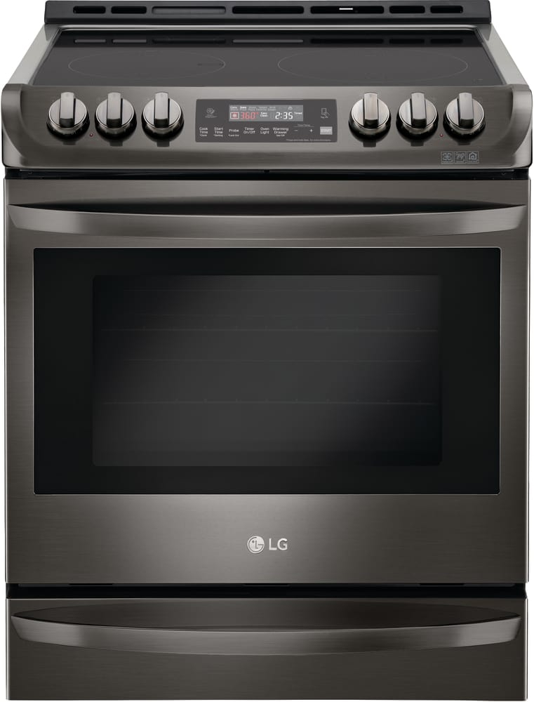 LG LSE4613BD 30 Inch Slide-in Electric Range with ProBake ...