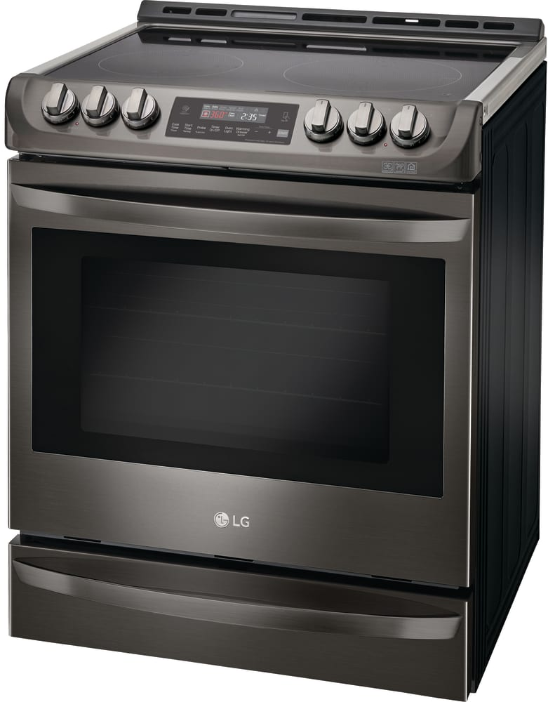 Lg Lse4613bd 30 Slide In Electric Range With 6 3 Cu Ft