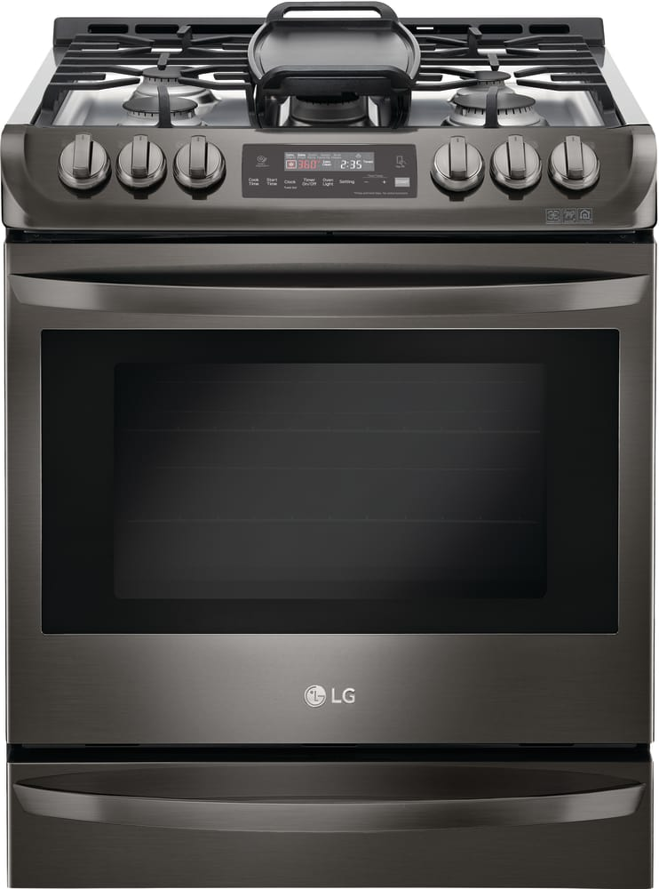 Lg Lsg4513bd 30 Slide In Gas Range With 5 Sealed Burners And 6 3