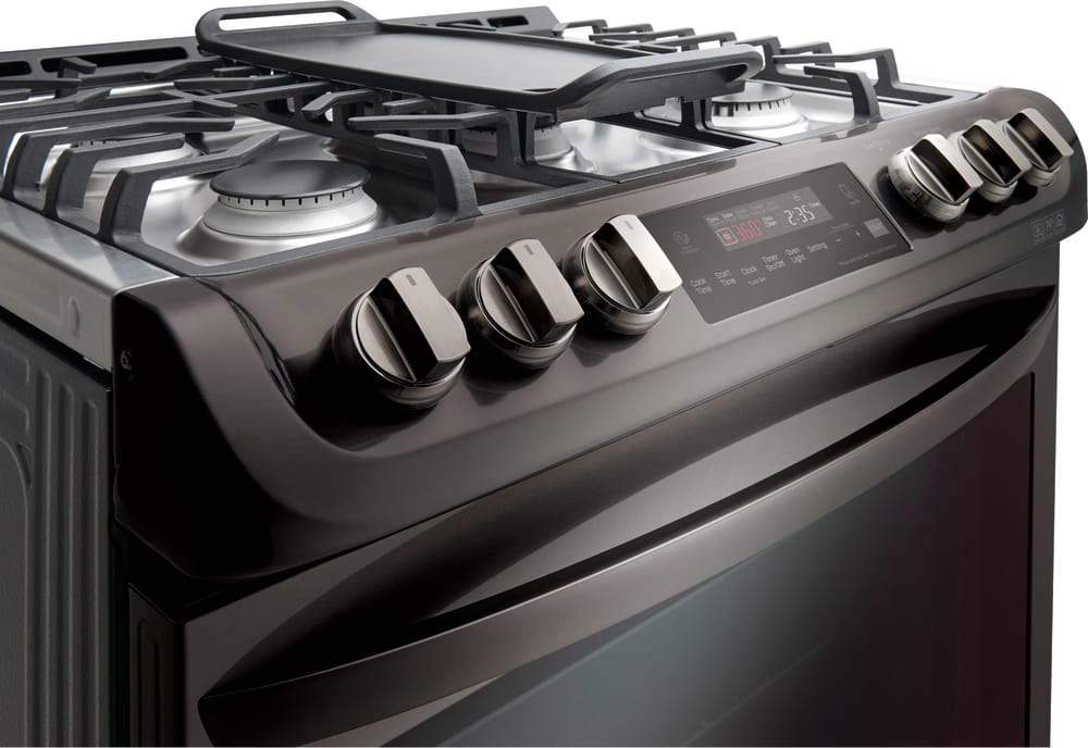 Lg Lsg4513bd Front Tilt Control S And Gl Touch Oven With Vfd Display