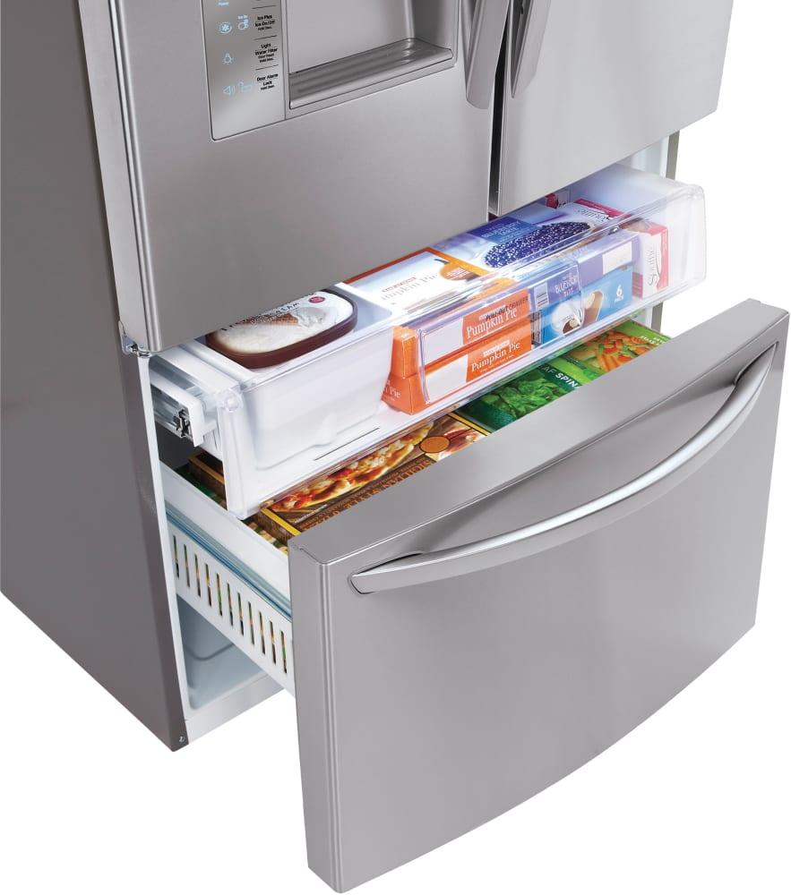 lg refrigerator drawer replacement. LG LFXS29626S - Freezer Drawer Lg Refrigerator Replacement