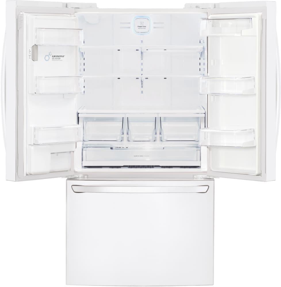 Lg lfxs29626w 36 inch french door refrigerator with smart cooling lg lfxs29626w 36 inch french door refrigerator from lg lg lfxs29626w interior view rubansaba