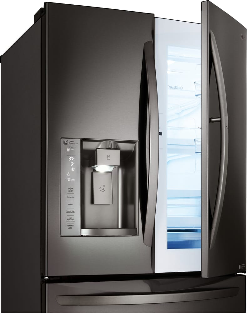 lg lmxs27676d 36 inch 4 door french door refrigerator with. Black Bedroom Furniture Sets. Home Design Ideas