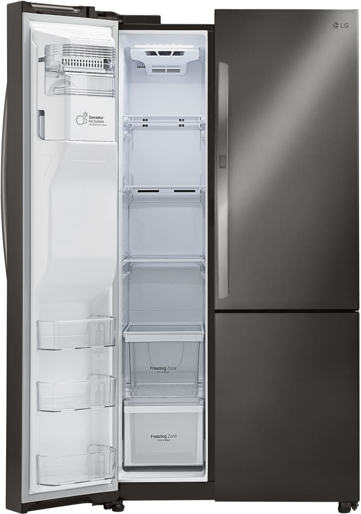 Lg Lsxs26366d 36 Inch Side By Side Refrigerator With 26 Cu