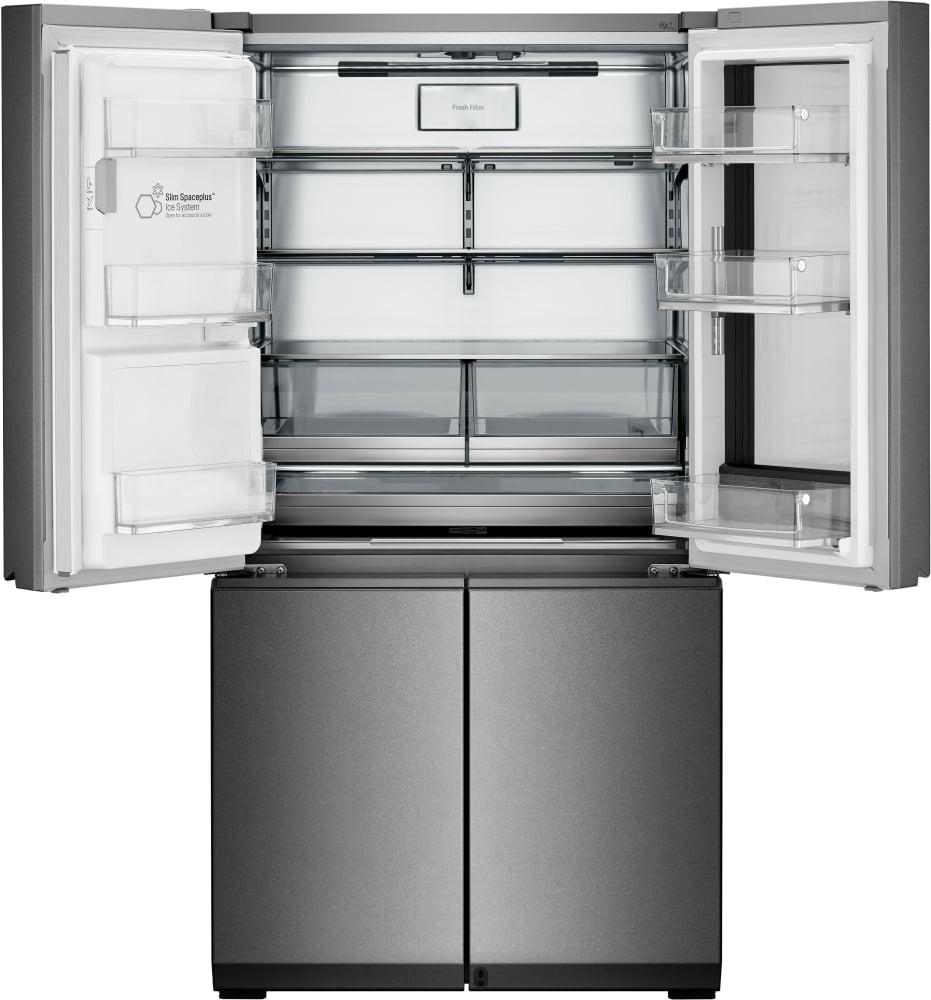 LG LUPXC2386N 36 Inch 4 Door Counter Depth French Door Refrigerator With  InstaView™ Window, Door In Door, Auto Open Door, Ice U0026 Water Dispenser W/  Measured ...