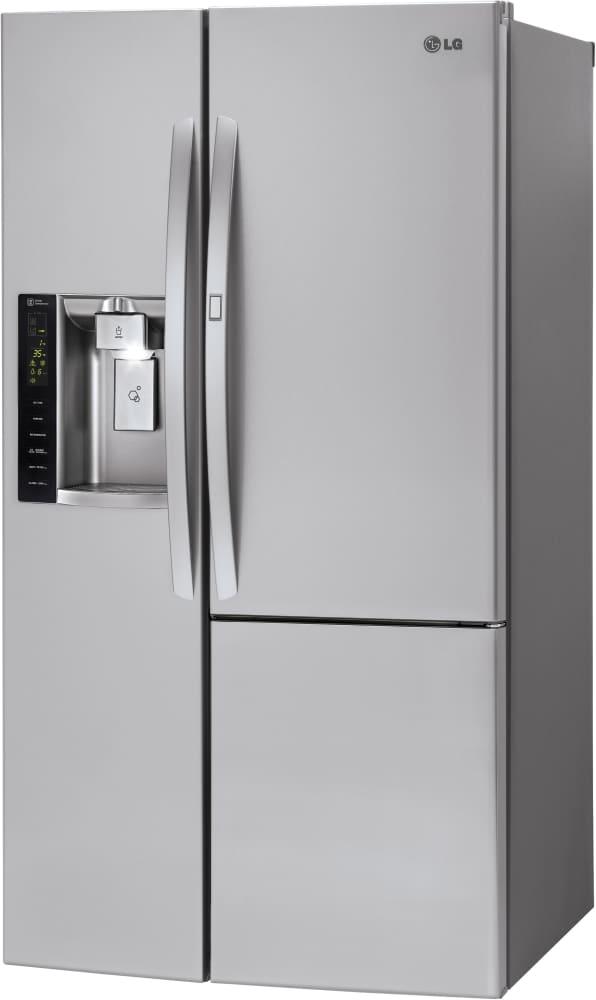 Lg Lsxs26366s 36 Inch Side By Side Refrigerator With Door In Door