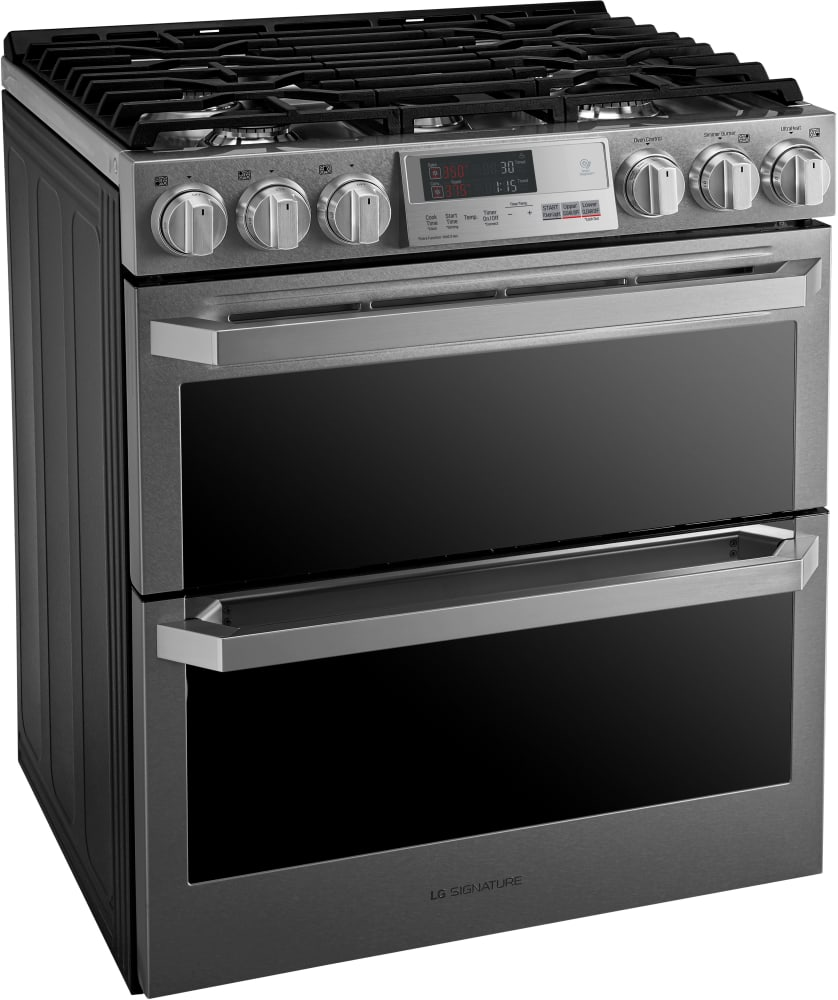 Lg Lutd4919sn 30 Inch Slide In Dual Fuel Range With Dual