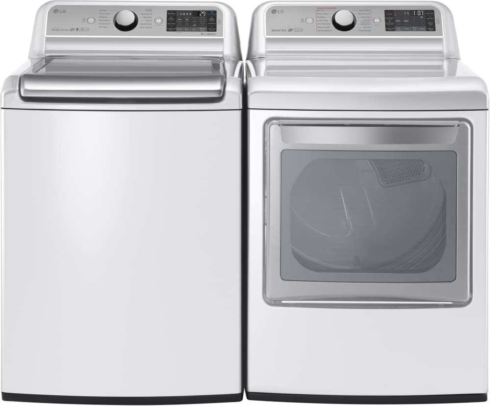 Best top load washers on the market - Capacity Interior Lg Wt7500cw Shown With Matching Dryer