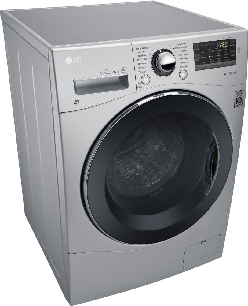 LG WM3488HS 24 Inch Front Load Washer/Dryer Combo With 2.3
