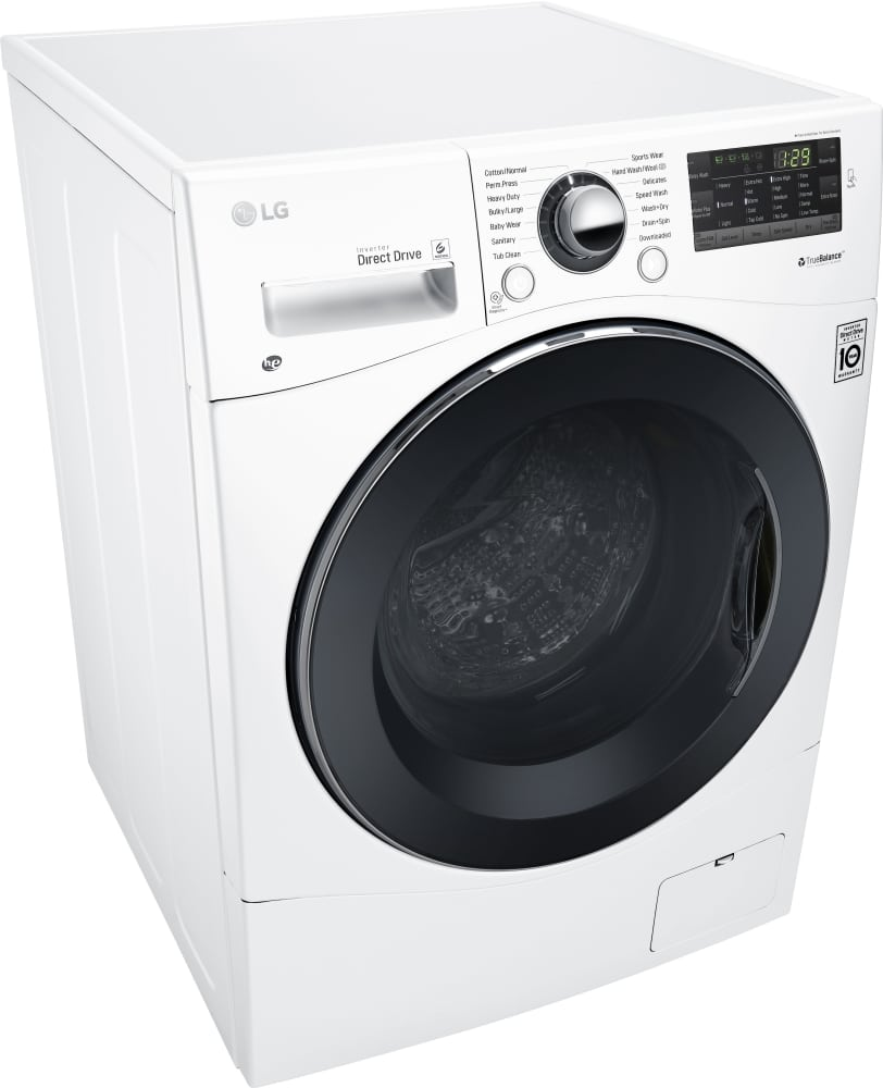 Lg 2 3 cu ft all in one washer and dryer -  Lg Wm3488h 2 3 Cu Ft Compact All In One Washer