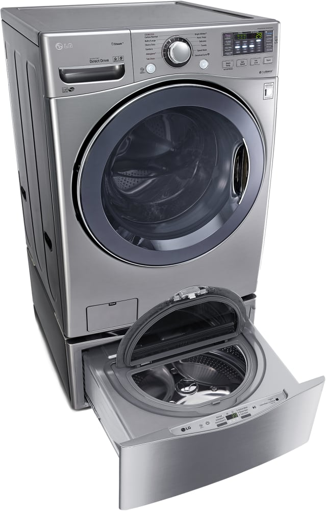 save lg cheap pedestal ideas front washer storage and stand trick money load drawer laundry dryer