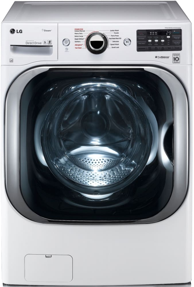 Lg Dryer Drum In The Hole ~ Lg wm hwa inch cu ft front load washer with