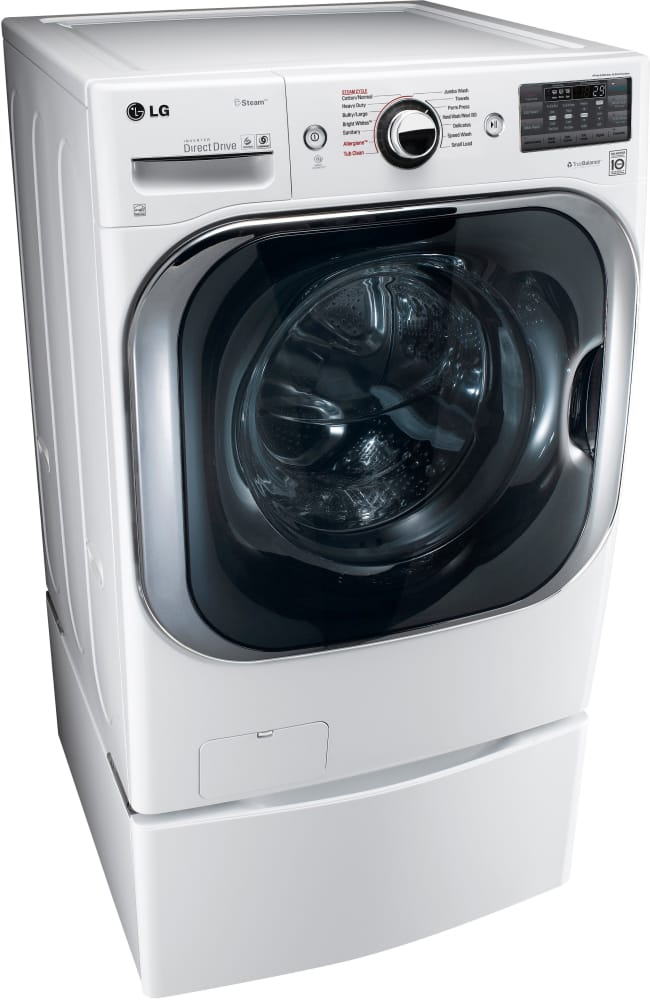 Lg Wm8100hwa 29 Inch 5 2 Cu Ft Front Load Washer With 14