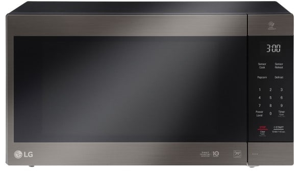 Lg Lmc2075bd 2 0 Cu Ft Countertop Microwave With Neochef