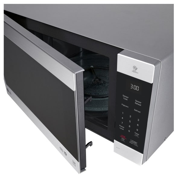 Lg Lmc2075st 2 0 Cu Ft Countertop Microwave With Neochef Sensor Cook Smoothtouch Controls