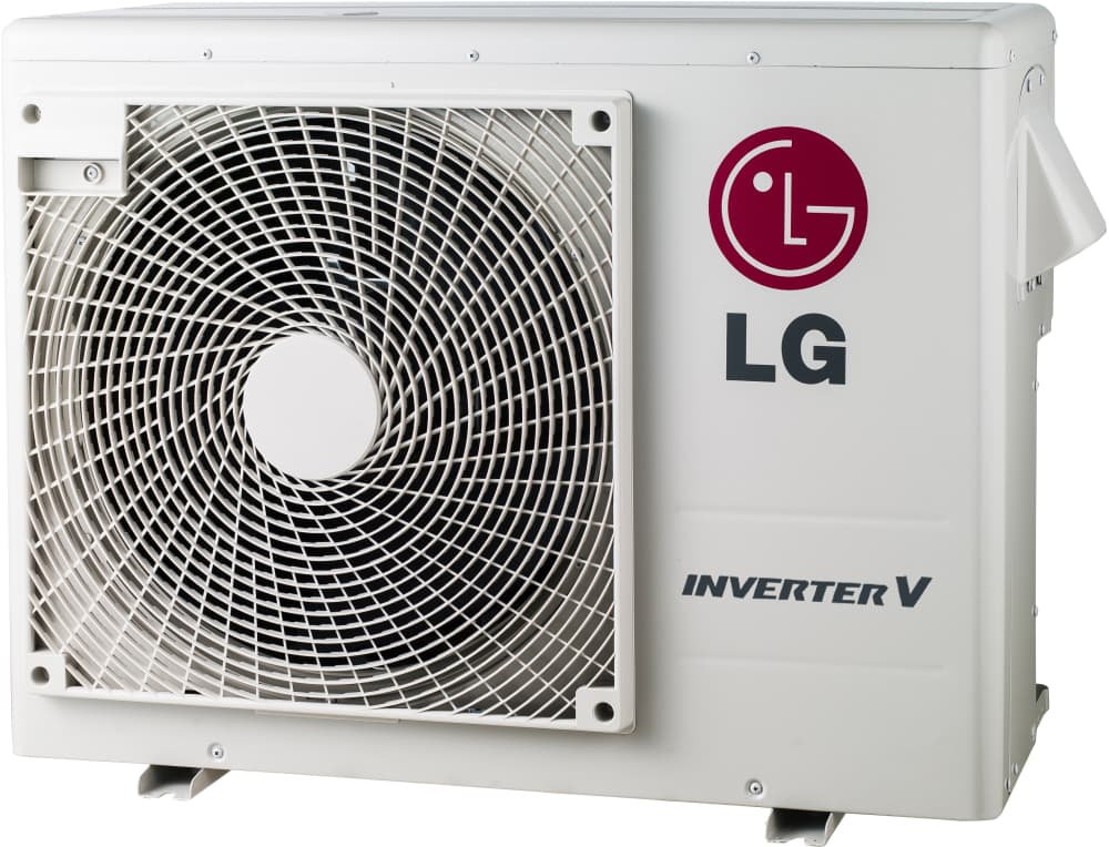 Lg Lg18kb21 2 Room Mini Split Air Conditioning System With